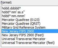 ExpertGPS Pro converts lat/lon, utm, and state plane coordinates