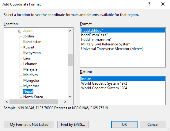 ExpertGPS is a batch coordinate converter for North Korean GPS, GIS, and CAD coordinate formats.