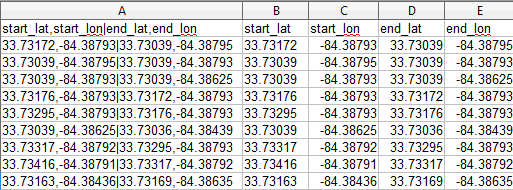 Converting CSV Data to KML and SHP using Excel and ExpertGPS