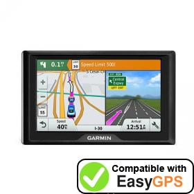 Download your Garmin Drive 5LMT waypoints and tracklogs for free with EasyGPS