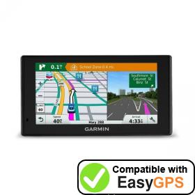 Download your Garmin DriveSmart 60LMTHD waypoints and tracklogs for free with EasyGPS