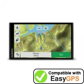 Download your Garmin DriveTrack 71 waypoints and tracklogs for free with EasyGPS