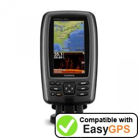 Download your Garmin echoMAP 42dv waypoints and tracklogs for free with EasyGPS