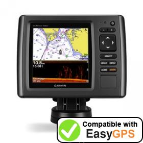 Download your Garmin echoMAP 54dv waypoints and tracklogs for free with EasyGPS