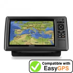 Download your Garmin echoMAP 91sv waypoints and tracklogs for free with EasyGPS