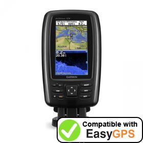 Download your Garmin echoMAP CHIRP 42cv waypoints and tracklogs for free with EasyGPS