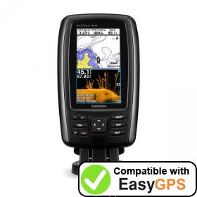 Download your Garmin echoMAP CHIRP 43dv waypoints and tracklogs for free with EasyGPS