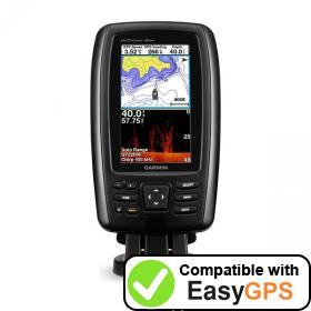 Download your Garmin echoMAP CHIRP 45dv waypoints and tracklogs for free with EasyGPS