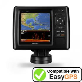 Download your Garmin echoMAP CHIRP 52dv waypoints and tracklogs for free with EasyGPS