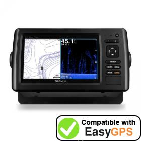 Download your Garmin echoMAP CHIRP 75dv waypoints and tracklogs for free with EasyGPS