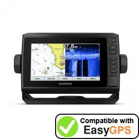 Download your Garmin ECHOMAP Plus 77sv waypoints and tracklogs for free with EasyGPS