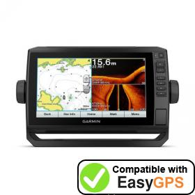 Download your Garmin ECHOMAP Plus 92sv waypoints and tracklogs for free with EasyGPS