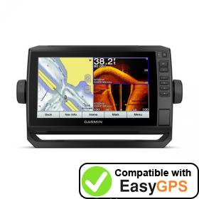 Download your Garmin ECHOMAP Plus 93sv waypoints and tracklogs for free with EasyGPS