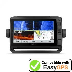 Download your Garmin ECHOMAP Plus 94sv waypoints and tracklogs for free with EasyGPS