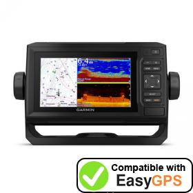 Download your Garmin ECHOMAP UHD 65cv waypoints and tracklogs for free with EasyGPS