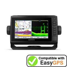 Download your Garmin ECHOMAP UHD 72cv waypoints and tracklogs for free with EasyGPS