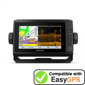 Download your Garmin ECHOMAP UHD 73cv waypoints and tracklogs for free with EasyGPS