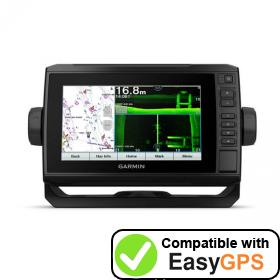 Download your Garmin ECHOMAP UHD 75sv waypoints and tracklogs for free with EasyGPS