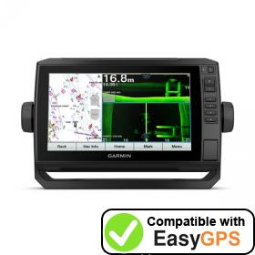 Download your Garmin ECHOMAP UHD 92sv waypoints and tracklogs for free with EasyGPS