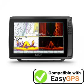 EasyGPS supports the Garmin ECHOMAP