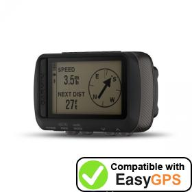 Download your Garmin Foretrex 601 waypoints and tracklogs for free with EasyGPS