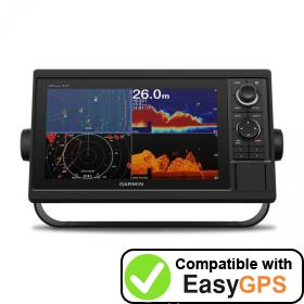 Download your Garmin GPSMAP 1022xsv waypoints and tracklogs for free with EasyGPS