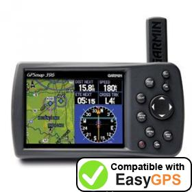 Download your Garmin GPSMAP 396 waypoints and tracklogs for free with EasyGPS