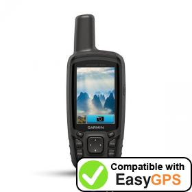 Download your Garmin GPSMAP 64sc waypoints and tracklogs for free with EasyGPS
