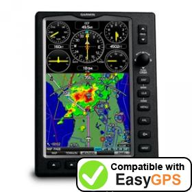 Download your Garmin GPSMAP 696 waypoints and tracklogs for free with EasyGPS