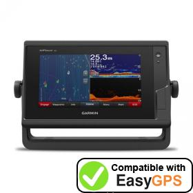 Download your Garmin GPSMAP 722xs waypoints and tracklogs for free with EasyGPS