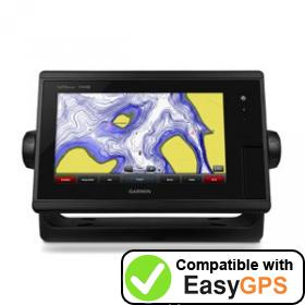 Download your Garmin GPSMAP 7408 waypoints and tracklogs for free with EasyGPS