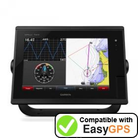 Download your Garmin GPSMAP 7410 waypoints and tracklogs for free with EasyGPS