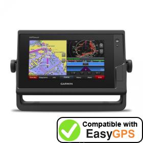 Download your Garmin GPSMAP 742 waypoints and tracklogs for free with EasyGPS
