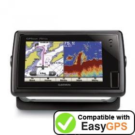 Download your Garmin GPSMAP 751xs waypoints and tracklogs for free with EasyGPS