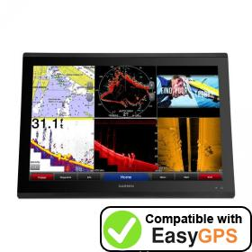 Download your Garmin GPSMAP 8624 MFD waypoints and tracklogs for free with EasyGPS