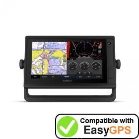 Download your Garmin GPSMAP 922 Plus waypoints and tracklogs for free with EasyGPS