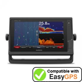 Download your Garmin GPSMAP 922xs waypoints and tracklogs for free with EasyGPS