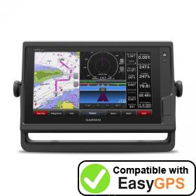 Download your Garmin GPSMAP 942 waypoints and tracklogs for free with EasyGPS