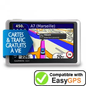 Download your Garmin nüvi 1340LMT waypoints and tracklogs for free with EasyGPS