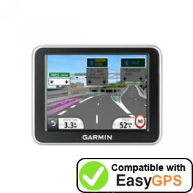 Download your Garmin nüvi 2240 waypoints and tracklogs for free with EasyGPS