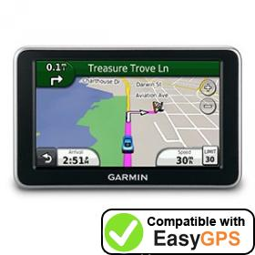 Download your Garmin nüvi 2300 waypoints and tracklogs for free with EasyGPS