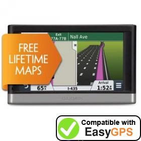 Download your Garmin nüvi 2467LM waypoints and tracklogs for free with EasyGPS