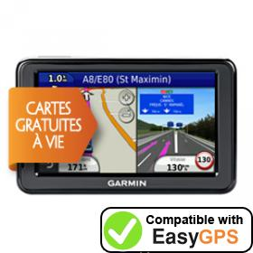Download your Garmin nüvi 2495LM waypoints and tracklogs for free with EasyGPS
