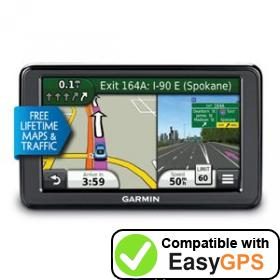 Download your Garmin nüvi 2555LMTHD waypoints and tracklogs for free with EasyGPS