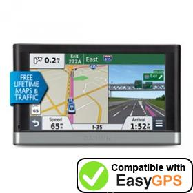 Download your Garmin nüvi 2567LMT waypoints and tracklogs for free with EasyGPS