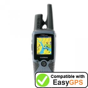 Download your Garmin Rino 520HCx waypoints and tracklogs for free with EasyGPS