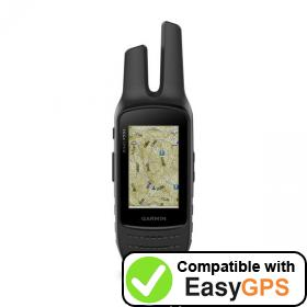 Download your Garmin Rino 755t waypoints and tracklogs for free with EasyGPS