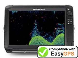 Download your Lowrance HDS Carbon 12 waypoints and tracklogs for free with EasyGPS
