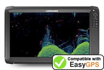 Download your Lowrance HDS Carbon 16 waypoints and tracklogs for free with EasyGPS