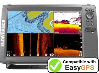 Download your Lowrance HOOK2-12 waypoints and tracklogs for free with EasyGPS